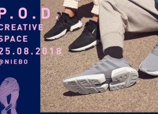 Plakat wydarzenia adidas originals