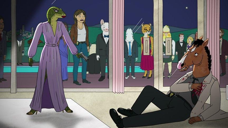 Kadr z serialu BojackHorseman