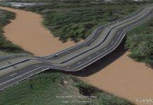 Zniekształcona droga w google maps