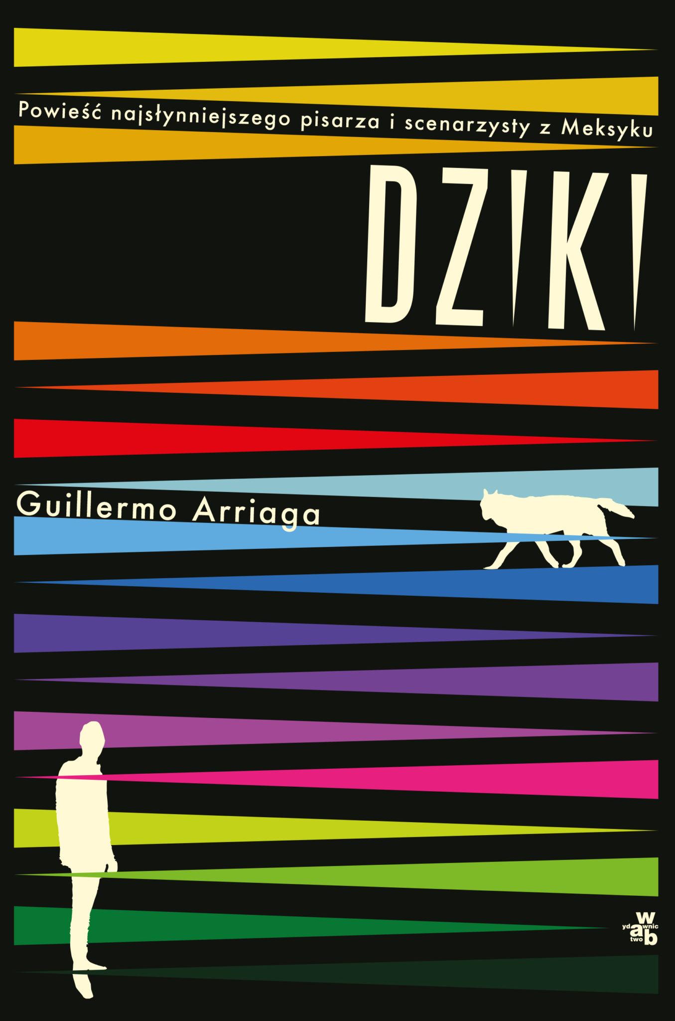 Okładka powieści Dziki