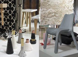 Ręcznie robione wazony i krzesło