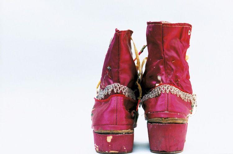 czerwone buty