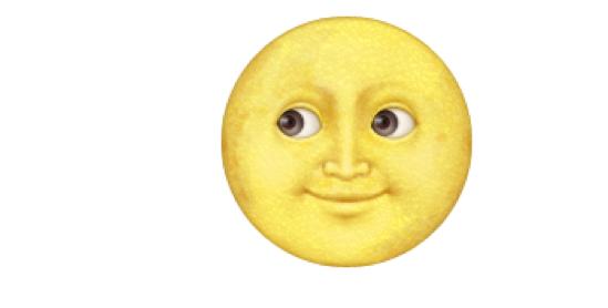 Erotyczne znaczenie emotki księżyca