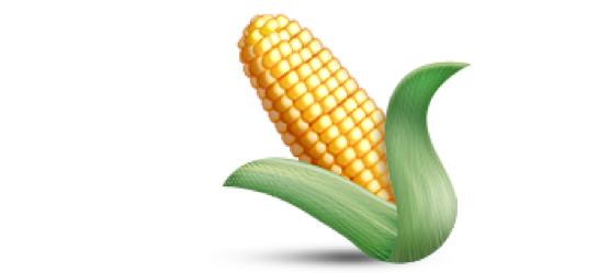 Emoji kukurydzy w sekstingu