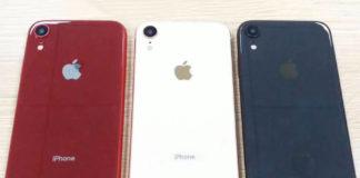 Trzy iPhone'y