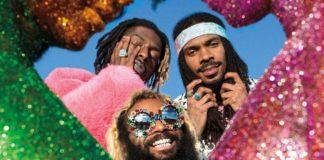 Trzech czarnoskórych mężczyzn