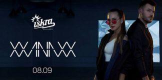 Plakat koncertu Xxanaxx w Iskrze