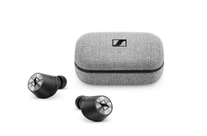 Bezprzewodowe słuchawki i pudełko z akumulatorem