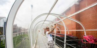 Plastikowy tunel