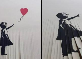 Pocięta praca Banksy'ego