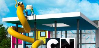 Wizualizacja przedstawiająca hotel Cartoon Network