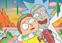 Główne postaci z kreskówki Rick i Morty