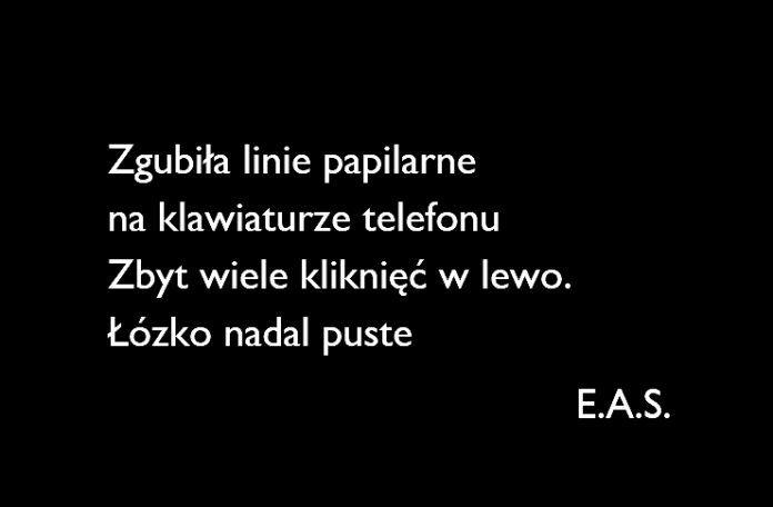 Wiersz od EAS