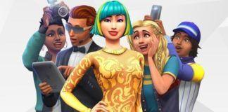 Plakat dodatku The Sims 4 Get Famous