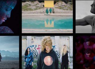 Zrzuty ekranu z teledysku