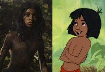 Chłopiec w dżungli w wersji fabularnej i animowanej