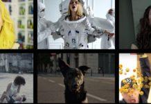 Zrzuty ekranu z kilku teledysków