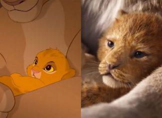 Mały lew w wersji animowej i live-action