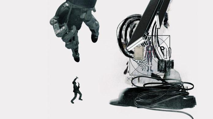 Grafika promująca film dokumentalny o robotach na HBO GO