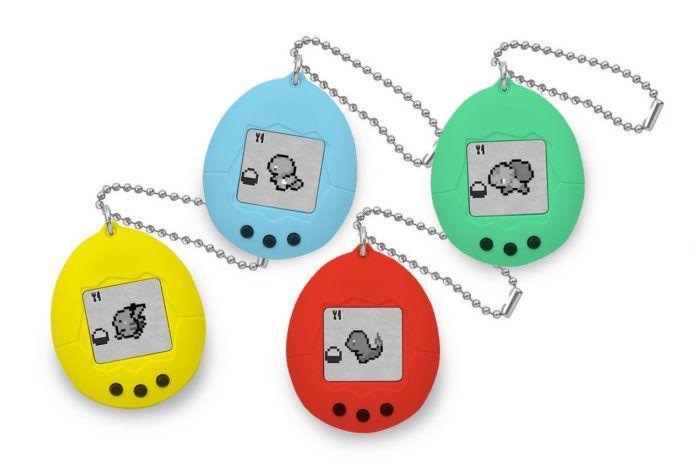 Cztery gry typu tamagotchi