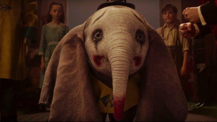 Mały słoń z pomalowaną twarzą