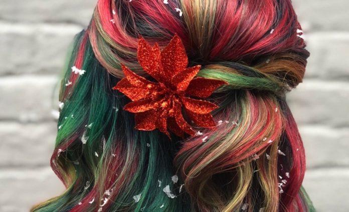 Świąteczne włosy