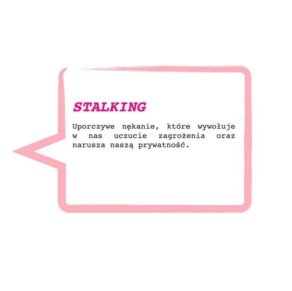 Informacja o stalkingu