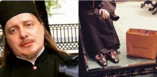 Ksiądz w butach Gucci