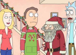 Scena z serialu Rick and Morty