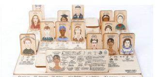 Gra planszowa z kobietami, które zmieniły świat