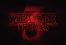 Neonowy napis Stranger Things 3