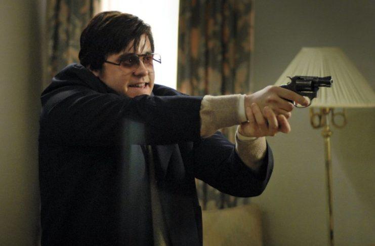 Mężczyzna z pistoletem