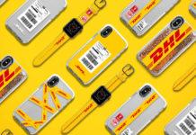 Obudowy na iPhone z logiem DHL