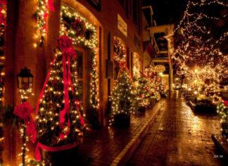 świąteczne światełka