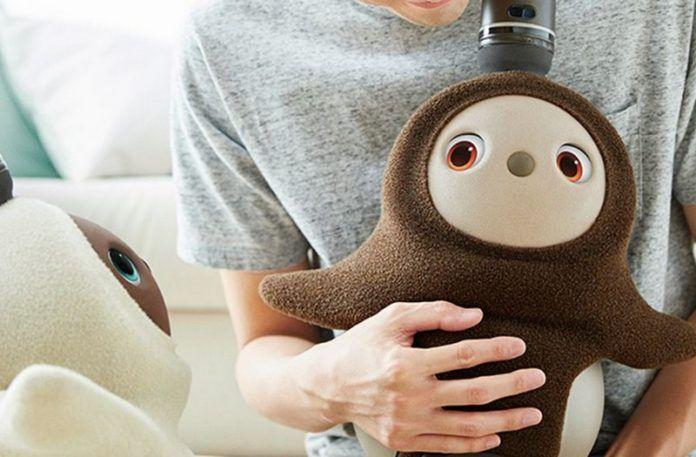 Robot który wygląda jak pluszowa zabawka