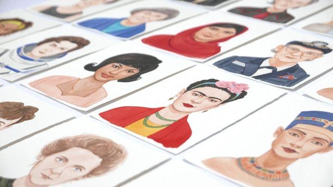 Karty z postaciami kobiet