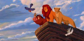 Kadr z filmu Król Lew
