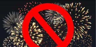 Fajerwki ze znakiem zakazu