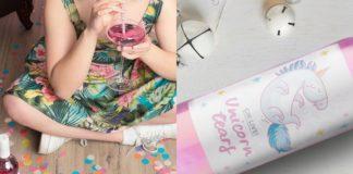 Różowe wino z jednorożca