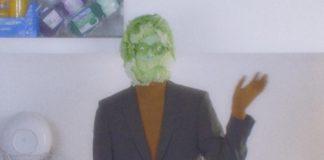 Mężczyzna z kapustą zamiast głowy