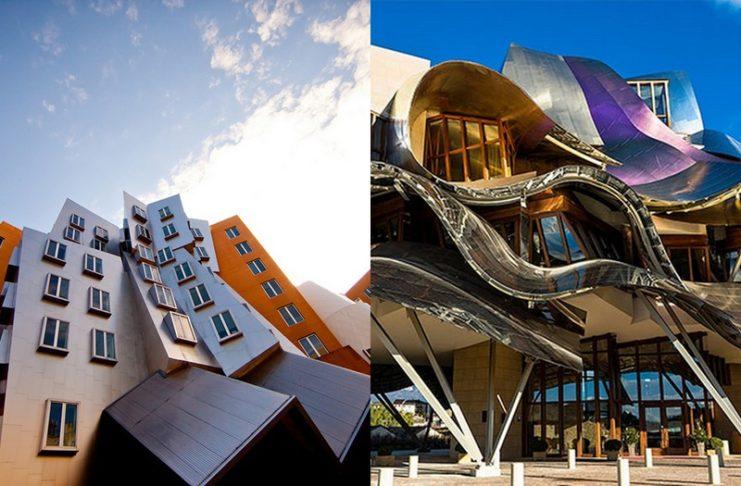 Dwa budynki o niesztampowej architekturze
