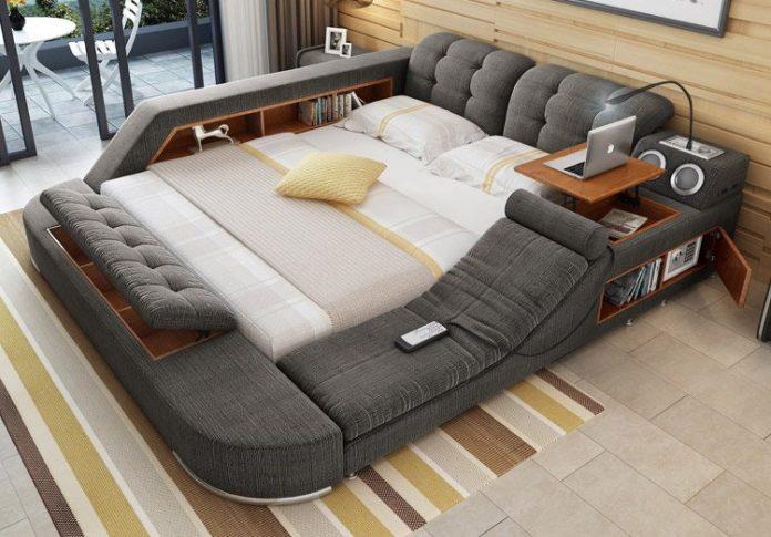 Wielofunkcyjne, olbrzymie łóżko