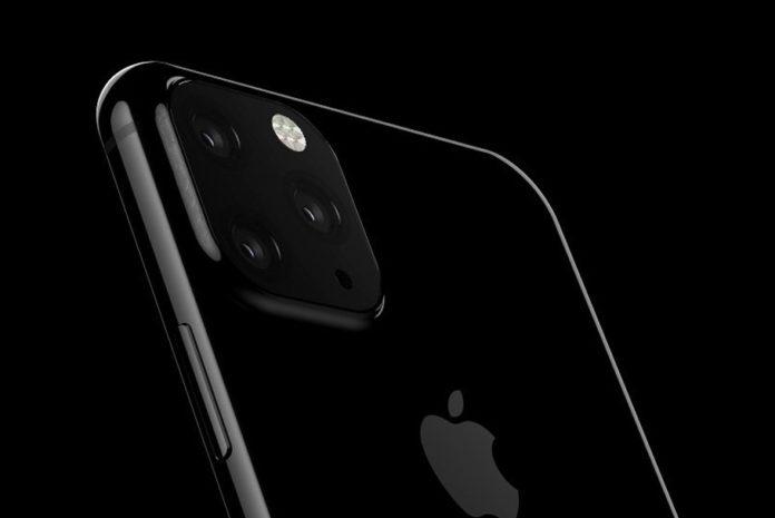 Zdjęcie iPhone'a z poczwórnym aparatem