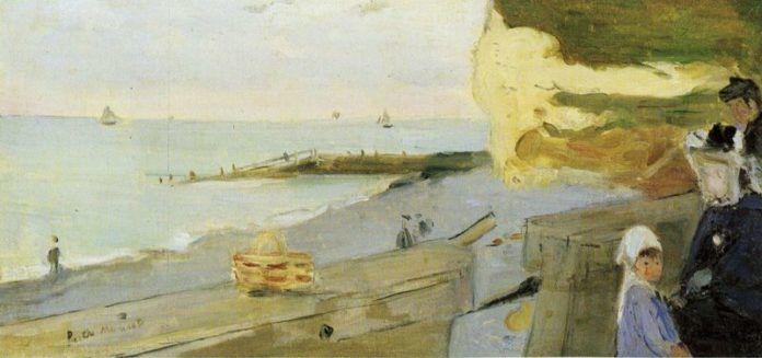 Obraz przedstawiający plaże i morze