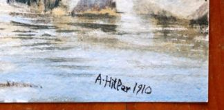 Obraz z podspiem A Hitler