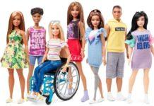 Niepełnosprawne lalki Barbie
