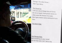 Kierowca samochodu i kartka papieru