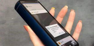 Gruby telefon typu smartfon
