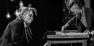 Dziewczyna z dredami przy fortepianie i DJce