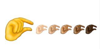 Ikonka przedstawiająca rękę pokazującą rozmiar